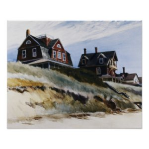 Cottage at Wellfleet - E. Hopper
